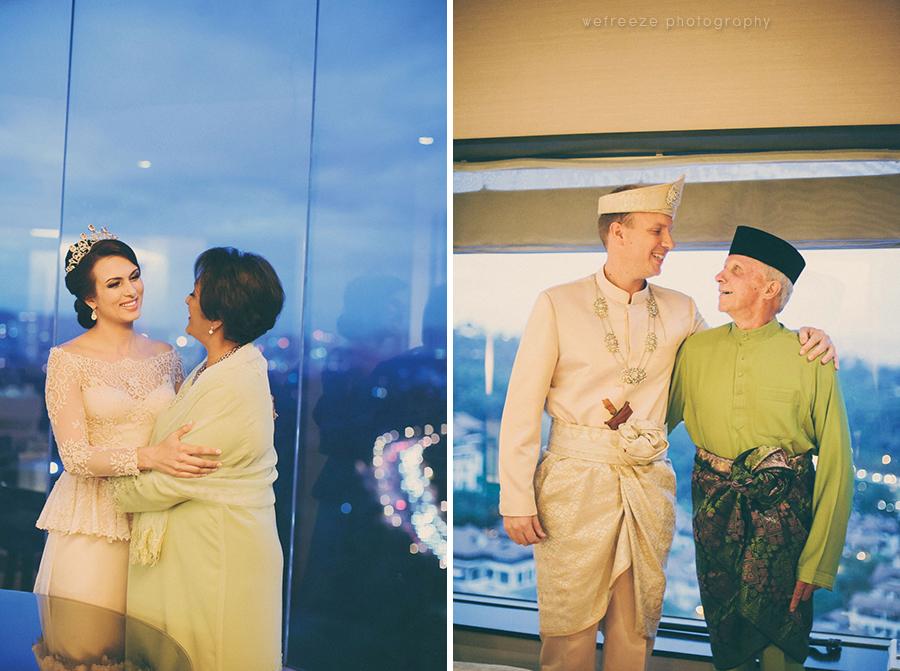 Malay wedding, Bersanding (38)