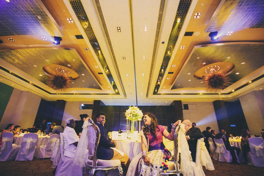 Dinner reception in Westin Hotel, Kuala Lumpur