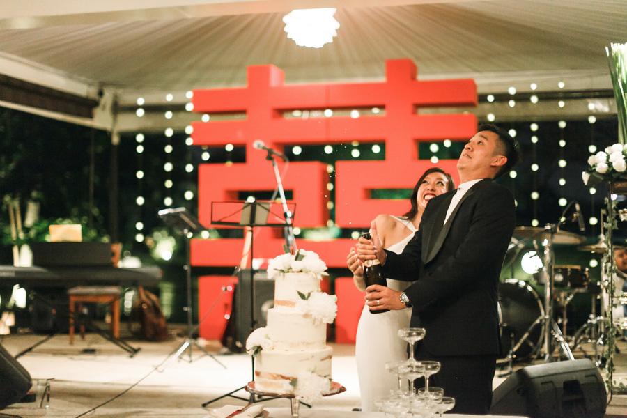 Wedding Reception in Ciao Restaurant Kuala Lumpur Malaysia