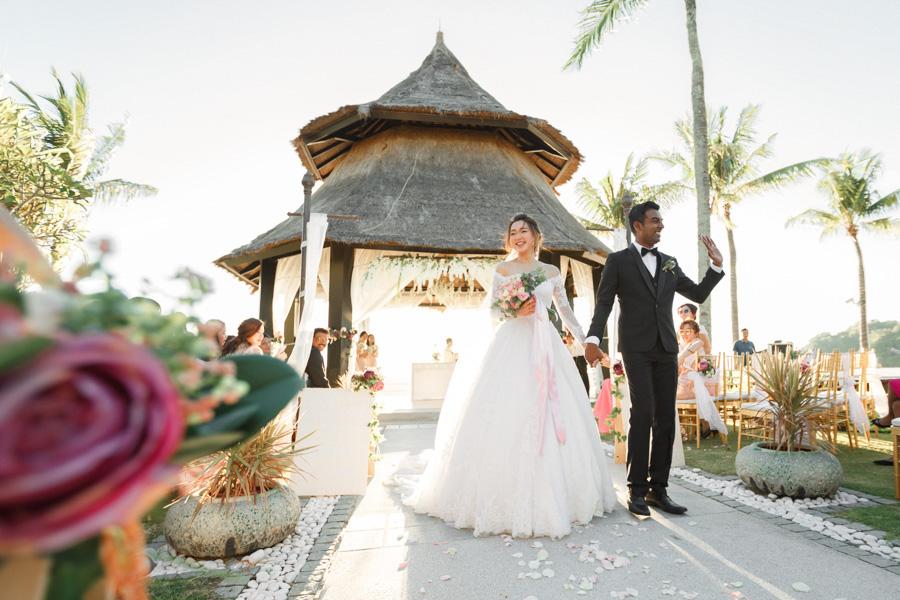 Wedding in Shangri-La's Rasa Ria Resort & Spa by Wefreeze