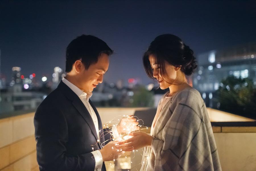destination pre-wedding in Tokyo