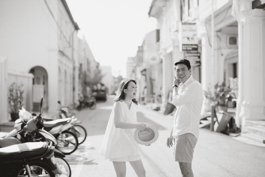 Georgetown street pre-wedding
