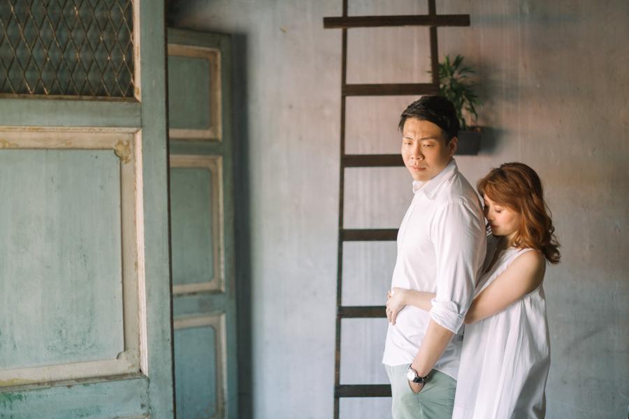 pre-wedding in cafe penang