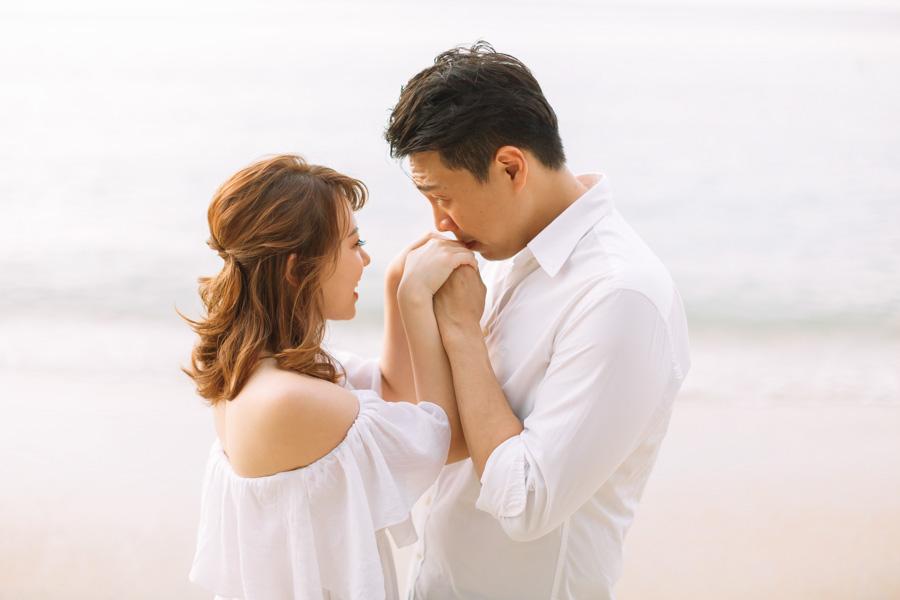 Malaysia beach pre-wedding