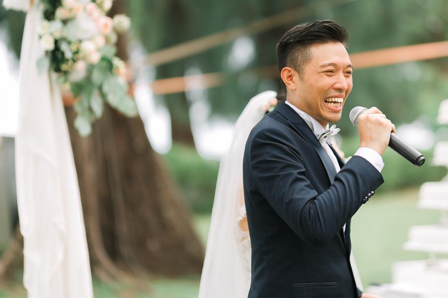 wedding at Lone Pine Hotel