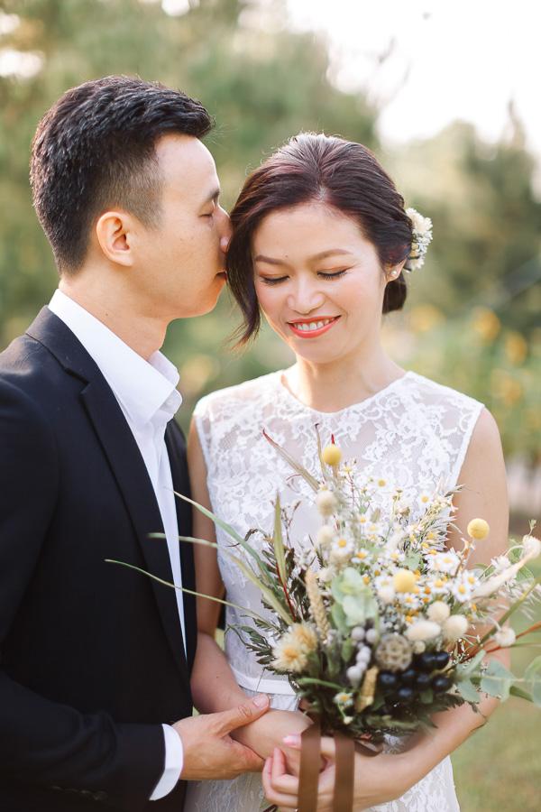 malaysia pre-wedding in putrajaya garden