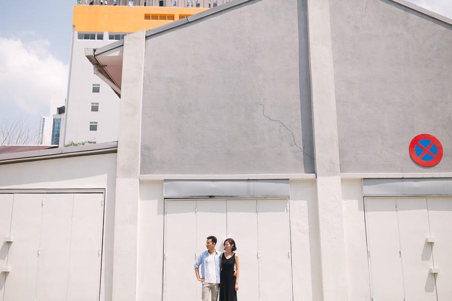 malaysia pre-wedding in petaling street