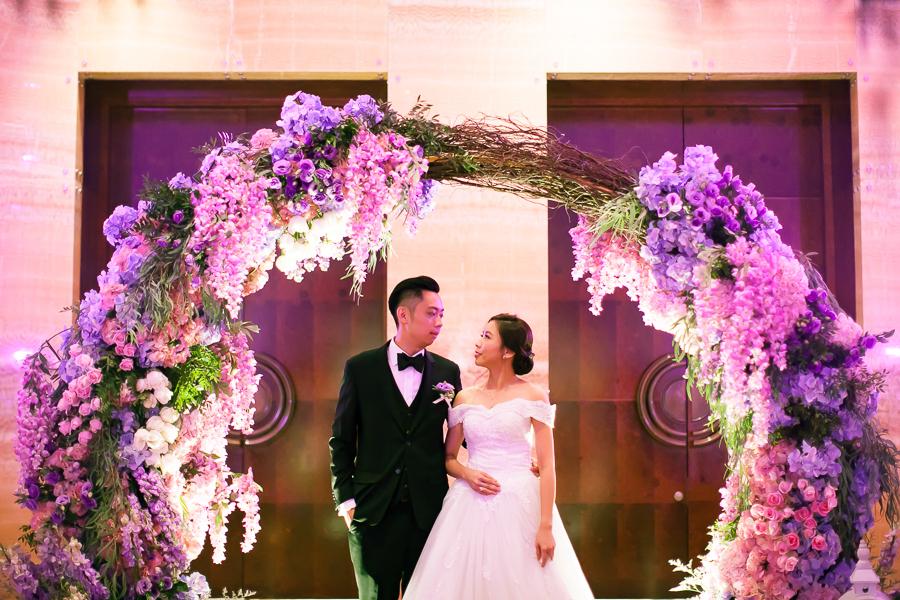 wedding reception at grand hyatt kuala lumpur