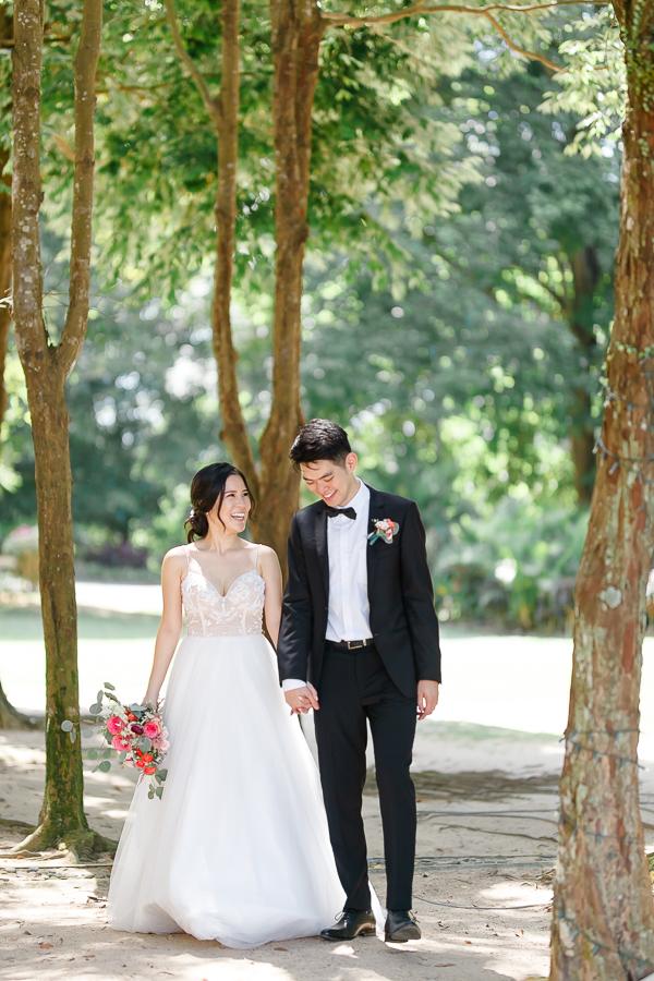 malaysia garden wedding photography
