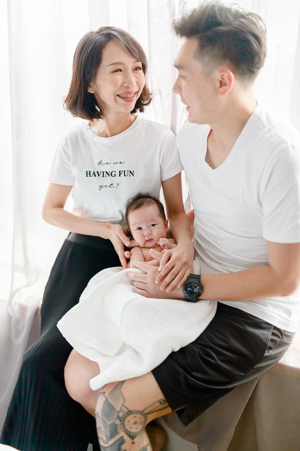 family portrait in Kuala Lumpur
